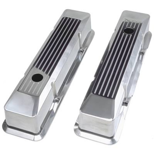 Trans-Dapt Performance Products Die-Cast Aluminum Valve Covers 6091