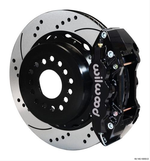 Wilwood AERO4 Big Brake Rear Brake Kits 140-10950-D