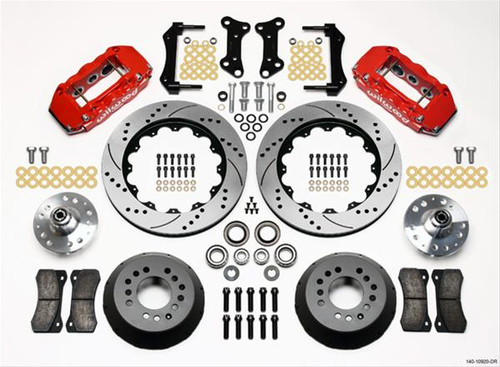 Wilwood AERO6 Big Brake Front Brake Kits 140-10920-DR