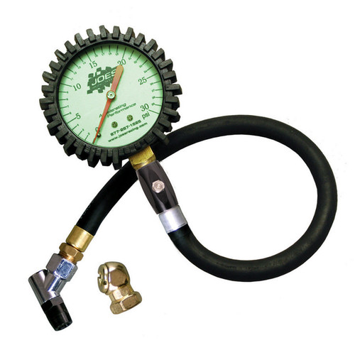 JOES Racing Products Glow-In-The-Dark Tire Pressure Gauges 32309