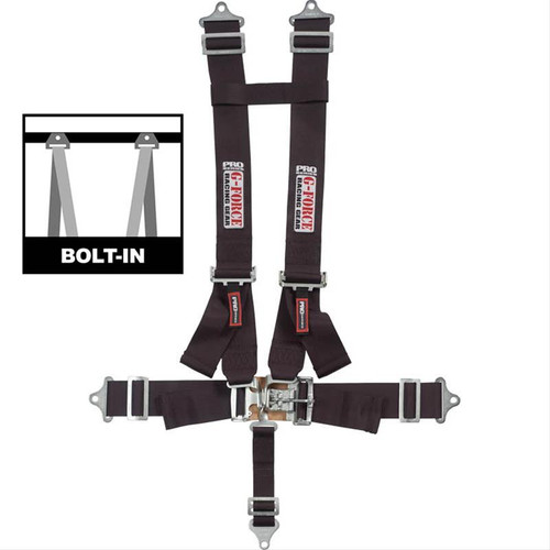 G-FORCE Latch and Link H-Type Harness Sets 6030BK
