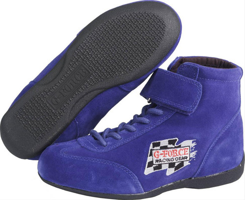 G-FORCE GF235 Race Grip Mid-Top Racing Shoes 0235050BU