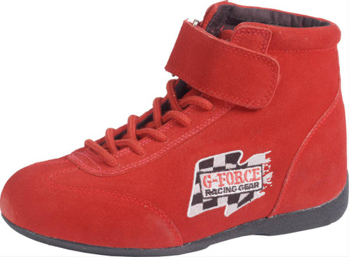 G-FORCE GF235 Race Grip Mid-Top Racing Shoes 0235070RD