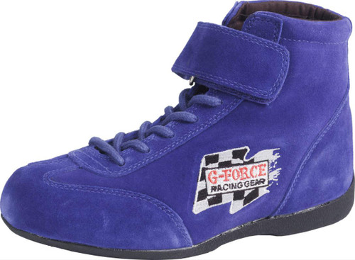 G-FORCE GF235 Race Grip Mid-Top Racing Shoes 0235070BU