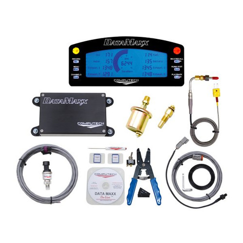 Computech DataMaxx Data Logger Bracket Kit with LCD Dash Display Kit 8000-BKT-LCD