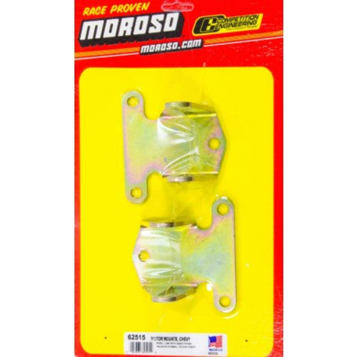 Moroso Solid Steel Motor Mounts Chevy V8 1 Pair 62515