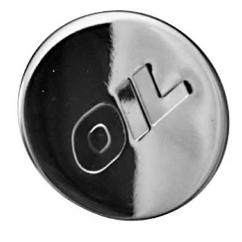 Proform Parts Chrome Oil Filler Caps for Chevrolet 66018