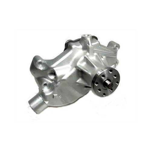 Big End Performance 1955-1995 Small Block Chevy Aluminum Water Pump, Short, Standard Rotation BEP60300