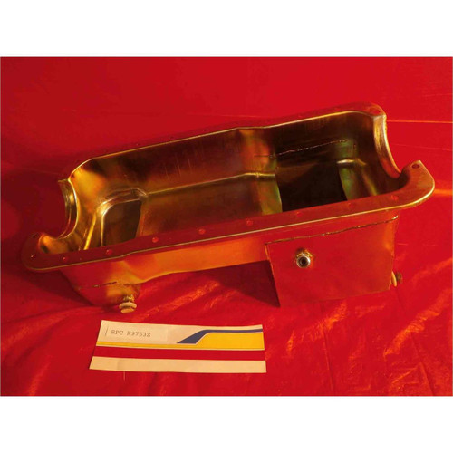 RPC Racing Power Co 79-93 Ford Mustang Oil Pan Fit-302 Zinc R9753Z