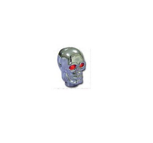 RPC Racing Power Co Skull Shift Knob With Led Chrome R9313X