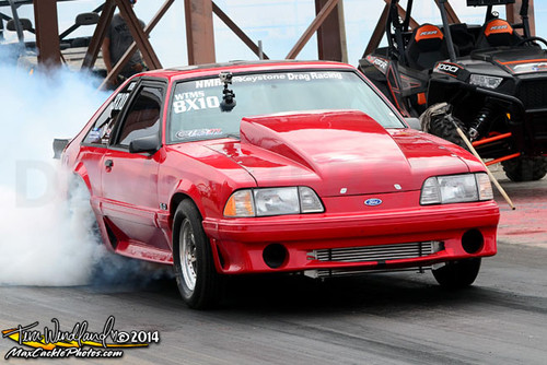 Tommy King's Mustang Uses This Jesel 2-Piece Upper Pulley Belt Drive Systems Ford KBD-34175