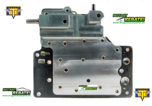 BTE Racing BILLET POWERGLIDE PRO TRANSBRAKE VALVE BODY BTE228265 with FREE SHIPPING and INSTANT REBATE SAVINGS