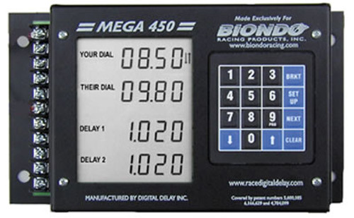 Biondo MEGA 450 DELAY BOX with THROTTLE STOP TIMERS MEGA450