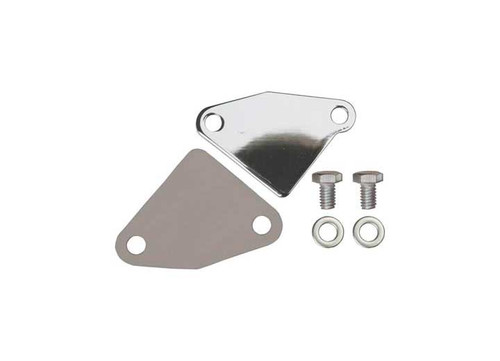 Big End Performance EGR Block Off Plate Chrome SBC BEP11085