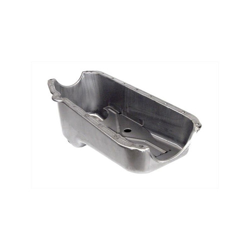 Big End Performance Oil Pan Raw SBC 86 Up 1PC RMS BEP43002