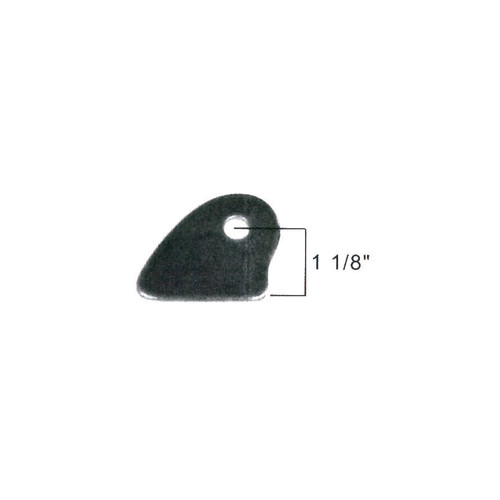 Big End Performance Parachute Tab 1/8 Stl BEP28238