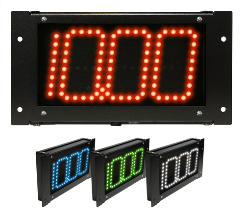 Digital Delay MEGA DIAL V2 Black Board Red Blue Green or White LED Readouts with FREE SHIPPING