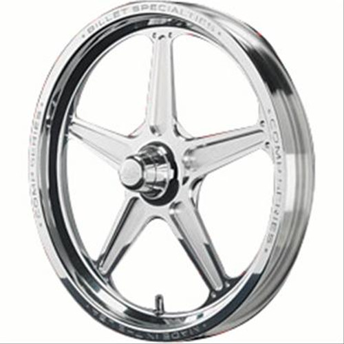 Billet Specialties Comp 5 Series Polished Wheels CSF03721AN
