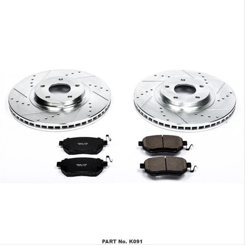 Power Stop 1 Click Brake Kits K091