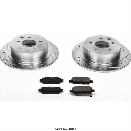 Power Stop 1 Click Brake Kits K098