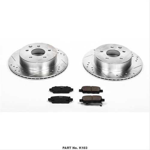 Power Stop 1 Click Brake Kits K103
