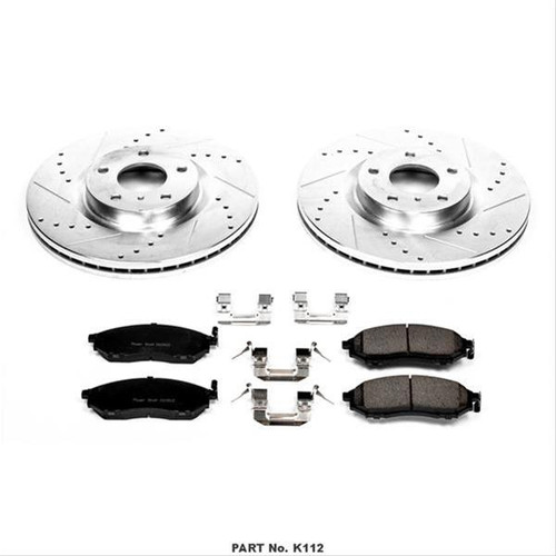 Power Stop 1 Click Brake Kits K112