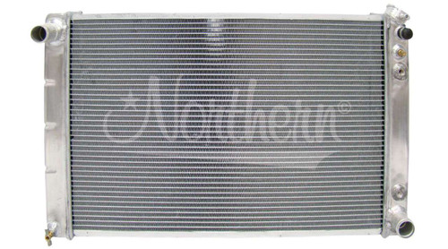 Aluminum Radiator; fits many 1978 - 1988 GM Intermediate and Full-size Cars, some 1978 - 1988 GM Trucks with Automatic Transmission