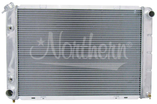 1980 to 1993 Mustang Crossflow Aluminum Radiator with Manual Transmission; also fits 1980 to 1993 T-bird and Mercury Cougar