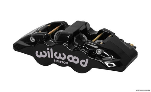 Wilwood AERO6 Radial Mount Calipers 120-13289-BK
