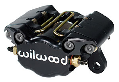 Brake Caliper, DynaPro, Aluminum, Black, 2-Piston, Front, Universal 120-9688