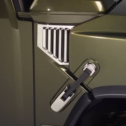 Putco Chrome Hood Lift Handle Covers 403407