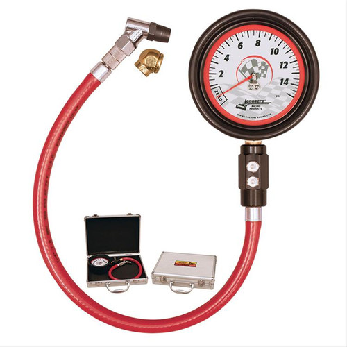 Longacre Racing Products Magnum Glow-In-The-Dark Tire Pressure Gauges 52031