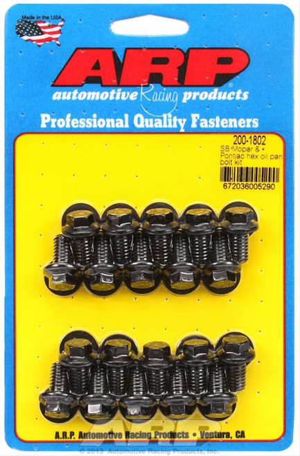 ARP Oil Pan Bolt Kits 200-1802