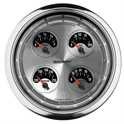 AutoMeter Auto Meter American Muscle Analog Gauge Kits 1212