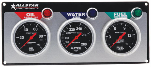 Allstar Performance Gauge Kits, Analog ALL80113