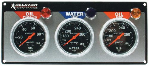 Allstar Performance Gauge Kits, Analog ALL80112