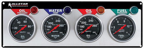 Allstar Performance Gauge Kits, Analog ALL80114