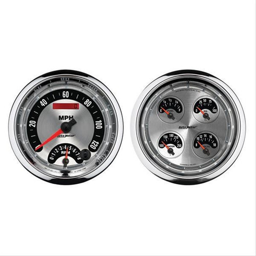 AutoMeter Auto Meter American Muscle Analog Gauge Kits 1205
