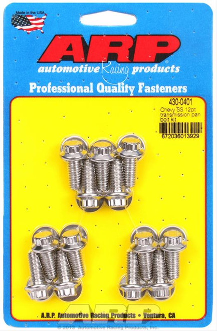 ARP Automatic Transmission Pan Bolt Kits 430-0401
