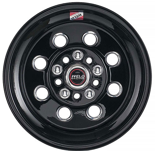 Weld Racing Draglite Black Painted Wheels 15 x 12 90B-512350