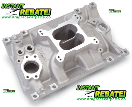 Edelbrock Performer Intake Manifold Chevy 4.3L V6 Vortec 2114 with FREE SHIPPING and INSTANT REBATE SAVINGS