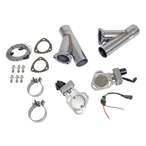 Pypes Electric Exhaust Cutouts 3 Inch Pipes Cutout HVE10K3 SHIPS FREE