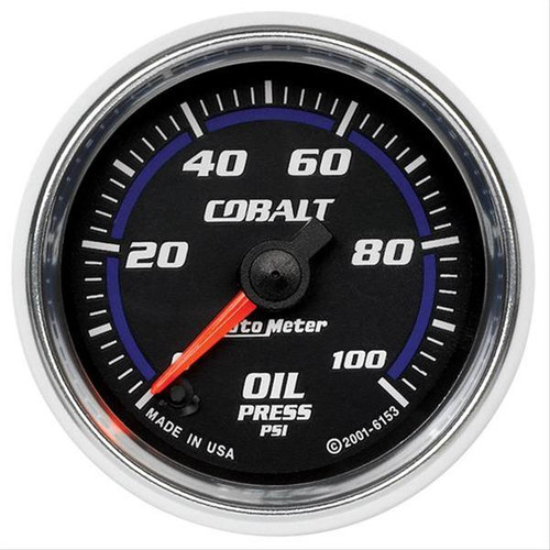 AutoMeter Auto Meter Cobalt Analog Gauges 6153