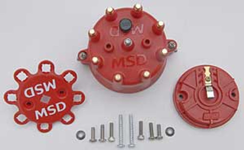 MSD Ignition Distributor Cap and Rotor Kits 84335