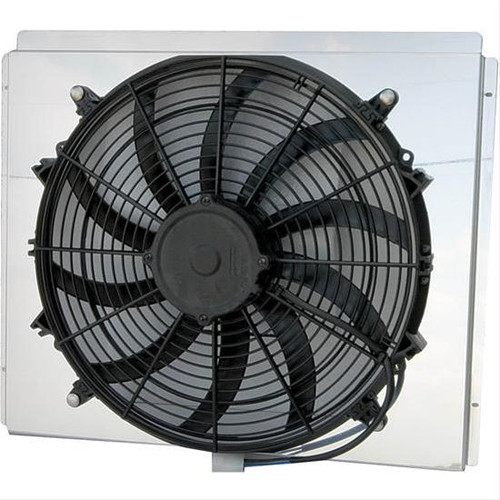 AFCO Racing Electric Fan and Aluminum Shroud Kits 80163NFANZ