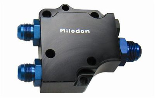 Milodon Billet Aluminum Oil Pump Covers 21225