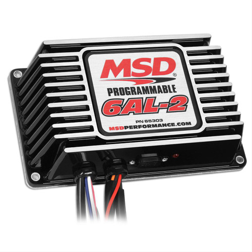 MSD Ignition Programmable Digital 6AL-2 Ignition Boxes 65303