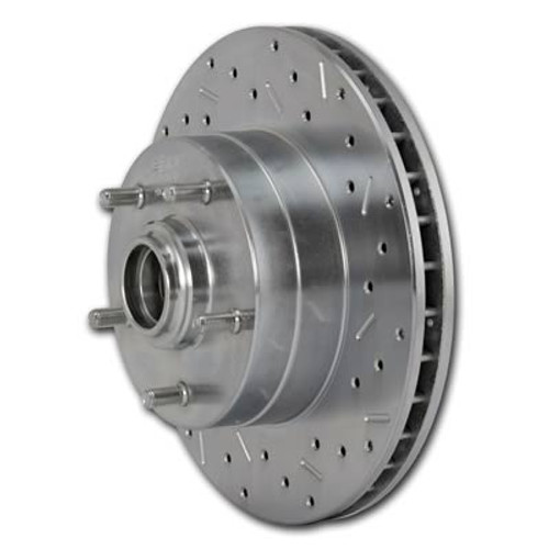 SSBC Big Bite Cross-Drilled Brake Rotors 23000AA3R