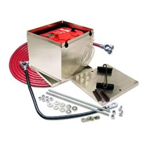 Taylor 200 Series Aluminum Battery Box Kits 48203