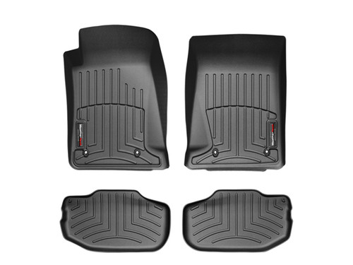 WeatherTech Digital Fit Black Floor Liners 2010-2015 Chevy Camaro 44267-1-2 Front 442671 Rear 442672 (FRONT & REAR)